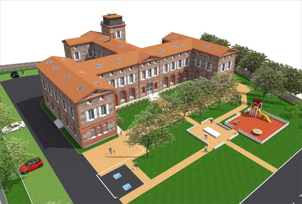 Projet de rénovation du bâtiment Jallier