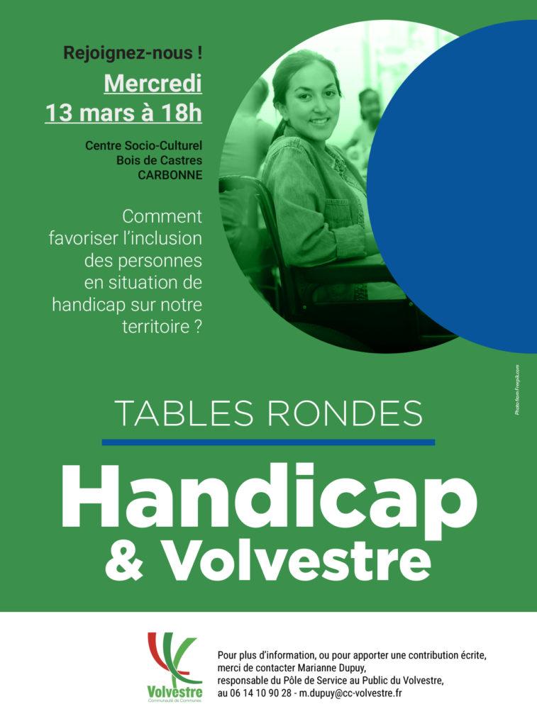 Tables Rondes Handicap Volvestre
