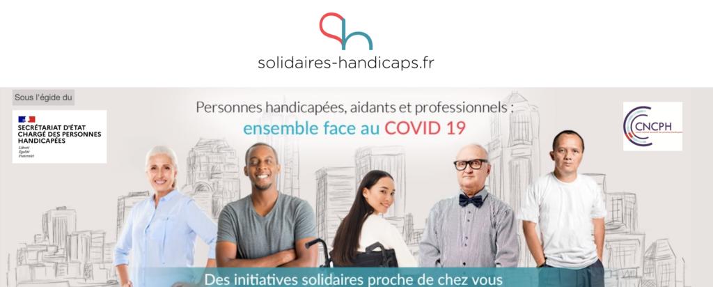 plateforme solidarité Handicaps