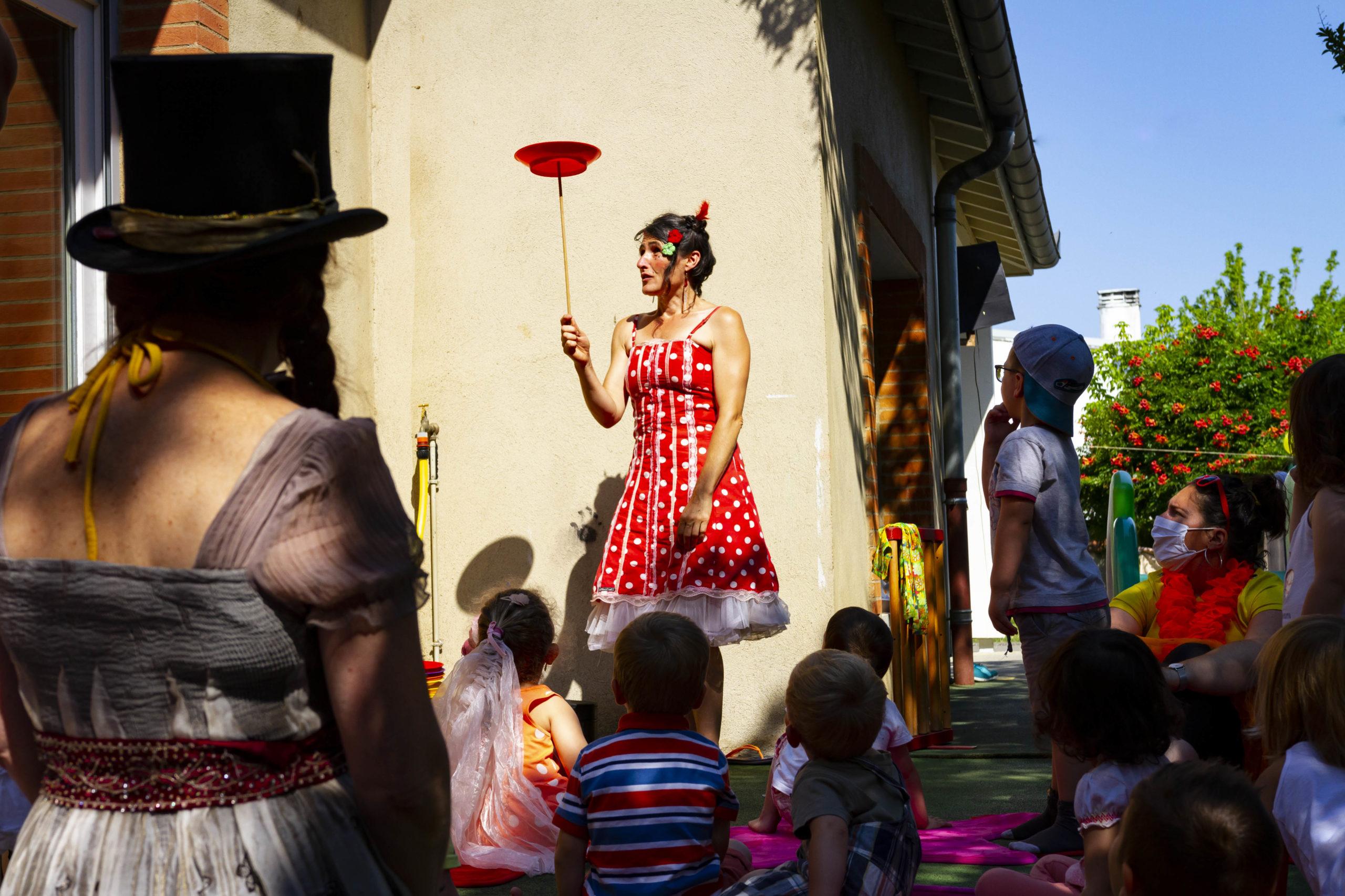 animation cirque en creche